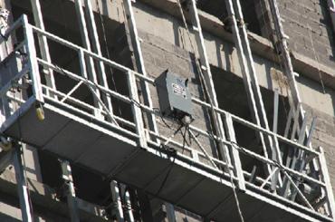 Se aprobó la serie zlp plataforma de cable suspendida zlp500, zlp630, zlp800, zlp1000
