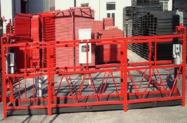 limpieza de edificios plataforma de trabajo suspendida zlp800 con una carga nominal de 800 kg