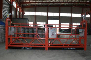 zlp1000 8 - 10 m / min plataforma de trabajo suspendida segura para la construcción y el mantenimiento de edificios