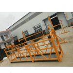 Plataforma de trabajo suspendida de andamio de aluminio con bajo precio.