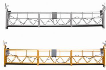 Las ventas calientes de la aleación de aluminio suspendieron la plataforma / la góndola suspendida / la cuna suspendida / la etapa suspendida del oscilación con la forma E