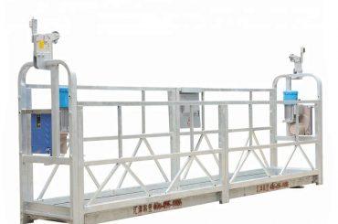 plataforma suspendida motorizada, construcción de telecabina, bmu (zlp500 / 630/800)