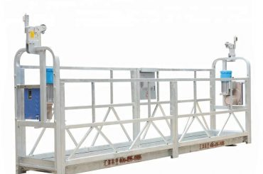 10m 800kg Aleación de aluminio suspendida de los sistemas del andamio con altura de elevación 300 m