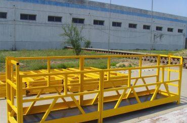 Plataforma de limpieza de ventanas para edificios de gran altura ZLP 800 300M 2.5M * 3 1.8KW 800KG