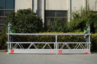 plataforma de trabajo suspendida sobre mástil / plataforma de trabajo elevada móvil
