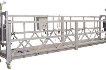 630 kg Equipo de acceso suspendido eléctrico ZLP630 con polipasto LTD6.3