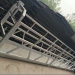 zlp630 / 800 ll forma aleación de aluminio, construcción de acero plataforma de trabajo suspendida elevación en ventanas de edificio