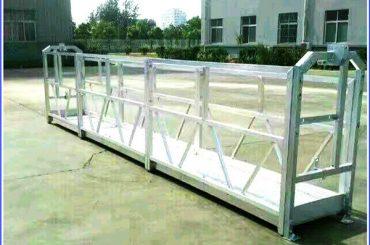 cuerda suspendida galvanizada en caliente plataforma, edificio de gran altura suspendido góndola
