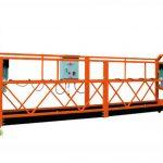 2.5 mx 3 secciones 1000 kg. Plataforma de acceso suspendida velocidad de elevación 8-10 m / min