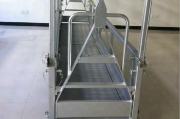 plataforma de trabajo de acero suspendido / plataforma de acero suspendido