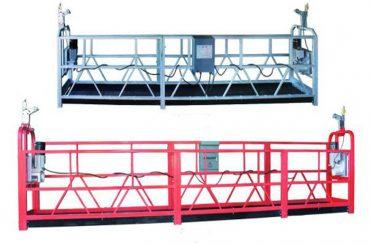 zlp 630 plataforma suspendida andamio plataforma de trabajo aéreo andamio con rociador de plástico pintado