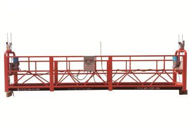 Plataforma suspendida temporal de acero / galvanizado en caliente, cuna de mantenimiento zlp500