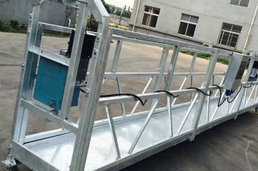 Limpiador de ventanas ZLP630 Cuna de plataforma suspendida de góndola con polipasto ltd6.3