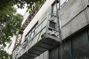 zlp1000 2.5m * 3 2.2kw 8kn cunas de acceso suspendidas con sistema de control eléctrico