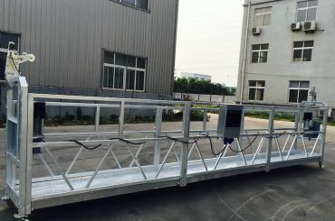 Plataforma suspendida de cuerda de aleación de aluminio ajustable zlp 800 para restauración / pintura