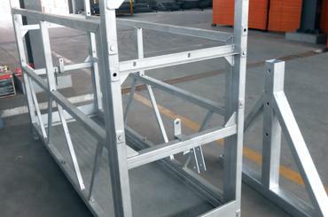 cuerda de alta seguridad plataforma suspendida elevadores instalación plataforma zlp630 zlp800 zlp1000