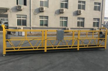 Aluminio pintado suspendido plataforma de cable 500kg / 630kg / 800kg / 1000kg