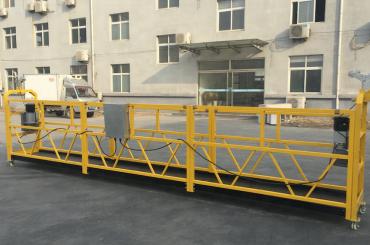 Poderosa plataforma de góndola suspendida de cuerda de 6 metros con saliente de viga