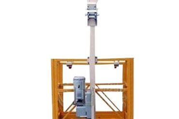 Plataforma de trabajo suspendida de un solo hombre de 250 kg l estribo con polipasto ltd6.3