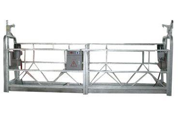 Cable móvil de seguridad con plataforma suspendida zlp500 con capacidad nominal de 500 kg