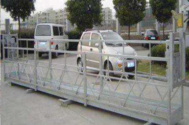 Plataforma suspendida de cuerda zlp630 / balancín eléctrico / andamio para máquina de limpieza de ventanas
