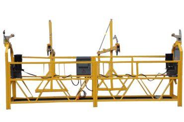 Equipo de limpieza de ventanas de plataforma de cable suspendido (2)