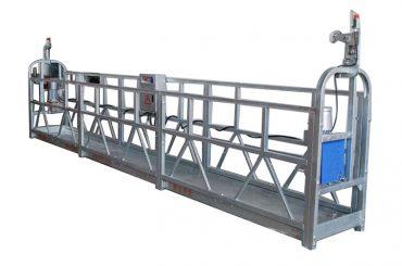 Alzamiento eléctrico cable de alambre góndola zlp500 pintura en aerosol plataforma suspendida