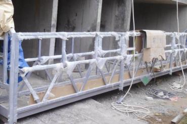 Cuerda de alta seguridad plataforma suspendida altura de elevación 300 m para pintura
